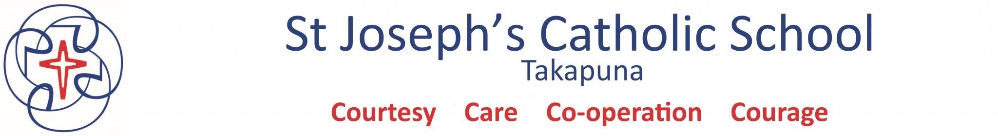 St Joseph's Catholic School Takapuna Logo